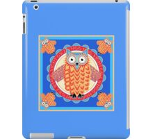 Colorful Night Owl iPad Case/Skin