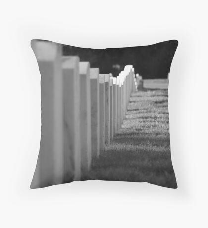 cemetary-3 Throw Pillow