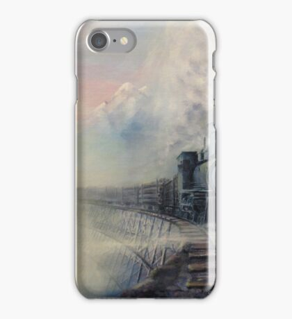 Cold Blue Steel iPhone Case/Skin