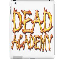 DEAD Academy Square Logo iPad Case/Skin