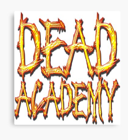 DEAD Academy Square Logo Canvas Print