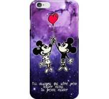 Mickey and Minnie Mouse Love  iPhone Case/Skin