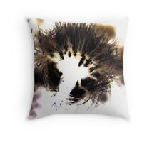 Dandelion Done Digital Throw Pillow