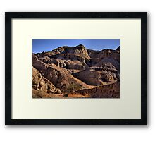 Mecca Hills Wilderness Framed Print