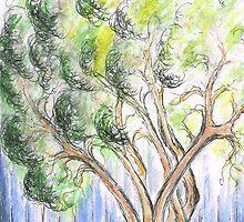 Garden  Tree by Teresa White