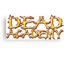 DEAD Academy Long Logo Canvas Print