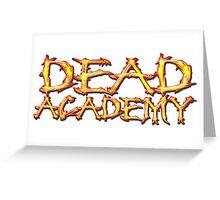 DEAD Academy Long Logo Greeting Card