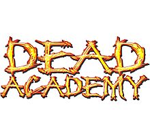 DEAD Academy Long Logo Photographic Print