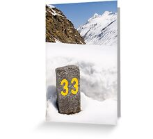 33 Greeting Card