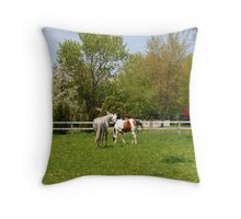 Happy Spring to you, too Throw Pillow