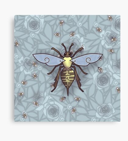 221 Bee Comfortable  Canvas Print