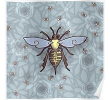 221 Bee Comfortable  Poster