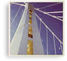 LIFE'S LITTLE GEMS - Color Bay Bridge Canvas Print
