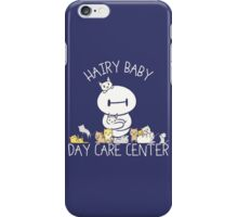Hairy Baby Baymax Quotes iPhone Case/Skin