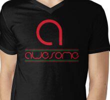 High End Awesome Mens V-Neck T-Shirt