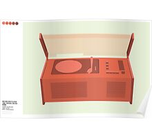 Dieter Rams SK4 Record Player Classic Design Poster