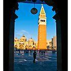 Campanile of San Marco by dunawori