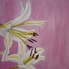 Oriental Lilies by Chante