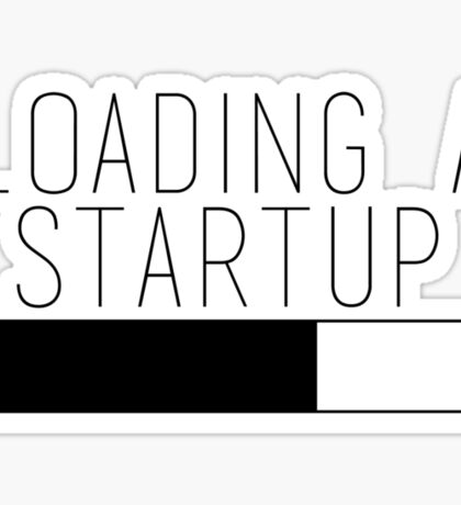Loading a Startup Sticker