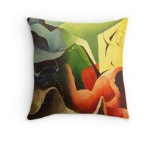 Textures + Colours Throw Pillow