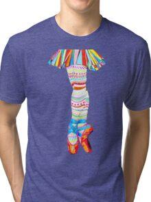 Doodling Ballet Tri-blend T-Shirt