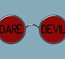 Daredevil Glasses by fangeek