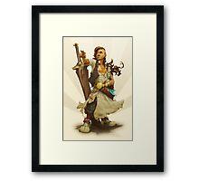 scai: pirate girl Framed Print