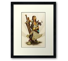 scai: pirate girl Framed Print