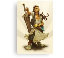 scai: pirate girl Canvas Print