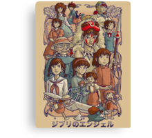 Ghibli's Angels Canvas Print