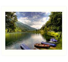 Feld am See ( Feld Lake ) - Carinthia - Austria Art Print