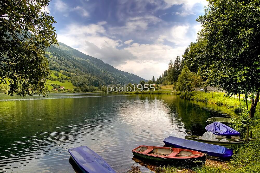 Feld am See ( Feld Lake ) - Carinthia - Austria by paolo1955
