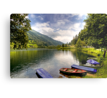 Feld am See ( Feld Lake ) - Carinthia - Austria Metal Print
