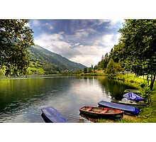 Feld am See ( Feld Lake ) - Carinthia - Austria Photographic Print