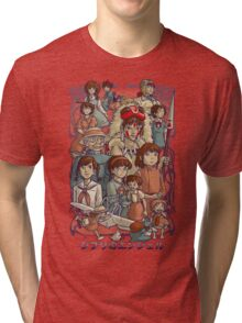 Ghibli's Angels Tri-blend T-Shirt