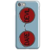 Daredevil Glasses iPhone Case/Skin