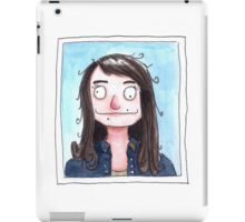 Portrait of the Artist at the DMV iPad Case/Skin