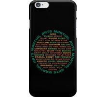 Martial Arts iPhone Case/Skin