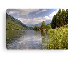 Afritzer See ( Afritzer Lake ) - Carinthia - Austria Canvas Print