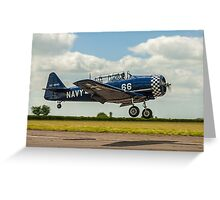 Confusing T-6J Harvard 4M G-BUKY Greeting Card