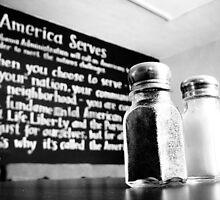 America Serves by Sophie Gonin