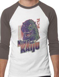King of the Kaiju Men's Baseball ¾ T-Shirt