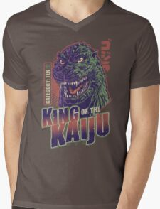 King of the Kaiju Mens V-Neck T-Shirt