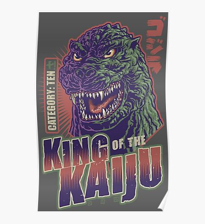 King of the Kaiju Poster