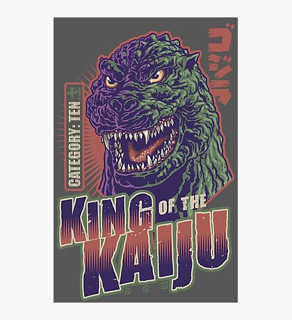 King of the Kaiju Photographic Print