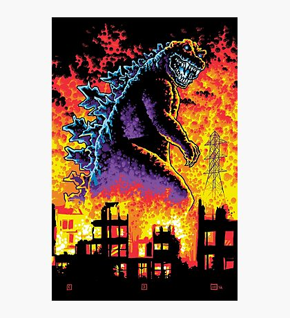 King of the Monsters Photographic Print