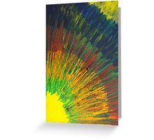 Will to Live by Holly Cannell - Abstract Artwork Greeting Card