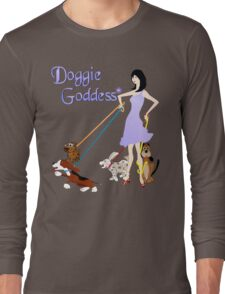 Doggie Goddess Long Sleeve T-Shirt
