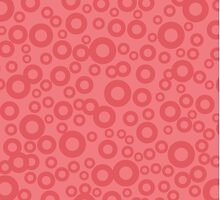 Pink Circles Pattern  by Vickie Emms
