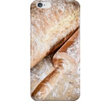 homemade organic bread  iPhone Case/Skin